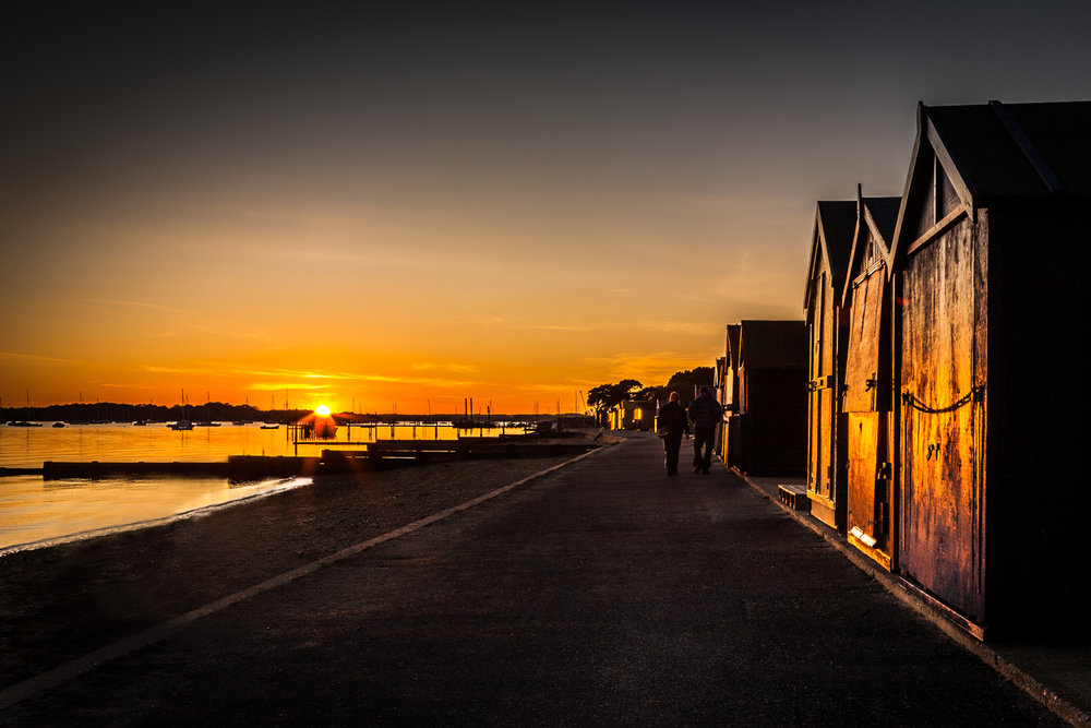 Beach Huts, Hamworthy by Poole Photographer Rick McEvoy