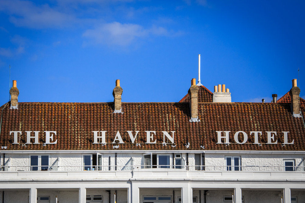 The Haven Hotel by Rick McEvoy hotel photographer in Sandbanks