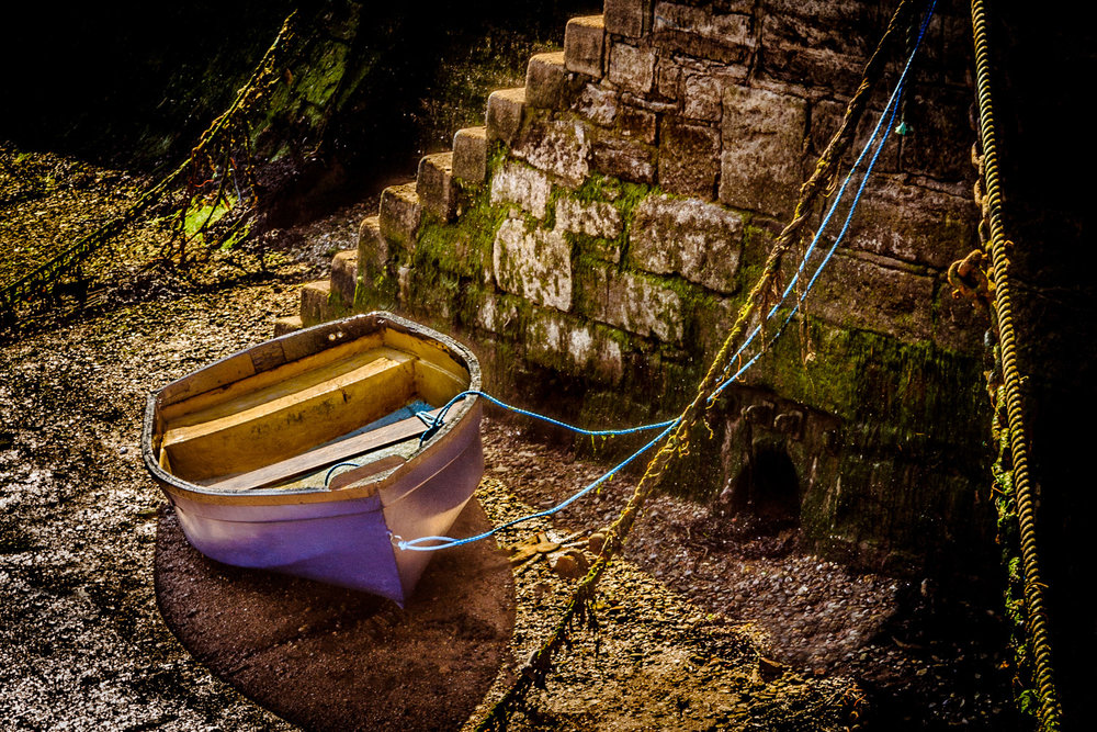 Picture of a boat in Brixham by Rick McEvoy Devon Photographer