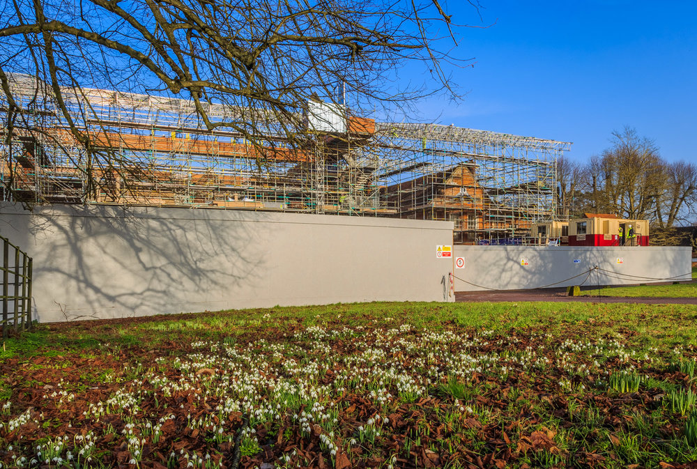 Reroofing The Vyne by Construction Photographer Rick McEvoy
