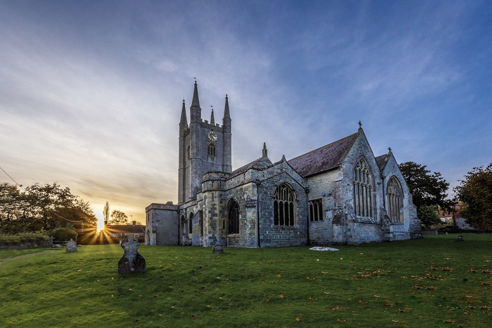 St Michael's Church - architectural photography in Wiltshire by Rick McEvoy Photography