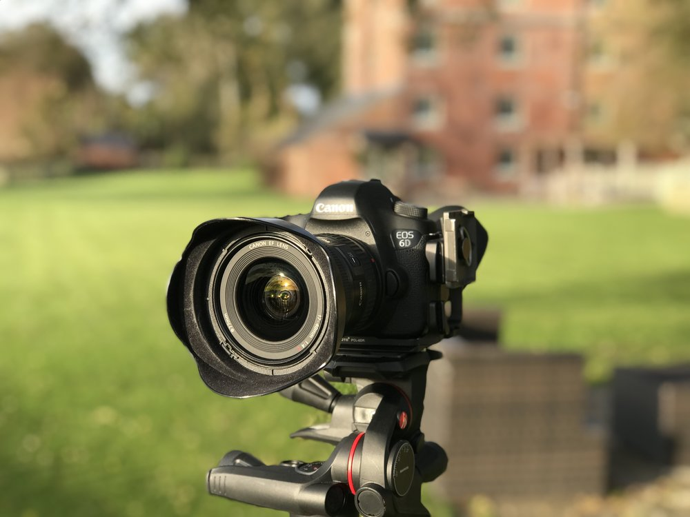 My Canon 6D on location in Hampshire