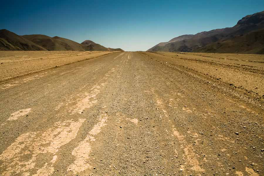 Road, Atacama Desert by Rick McEvoy Travel Photographer