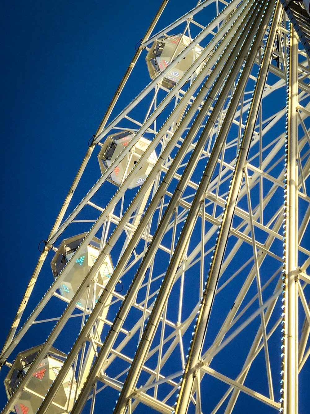 Ferris wheel by Rick McEvoy Bournemouth Photographer