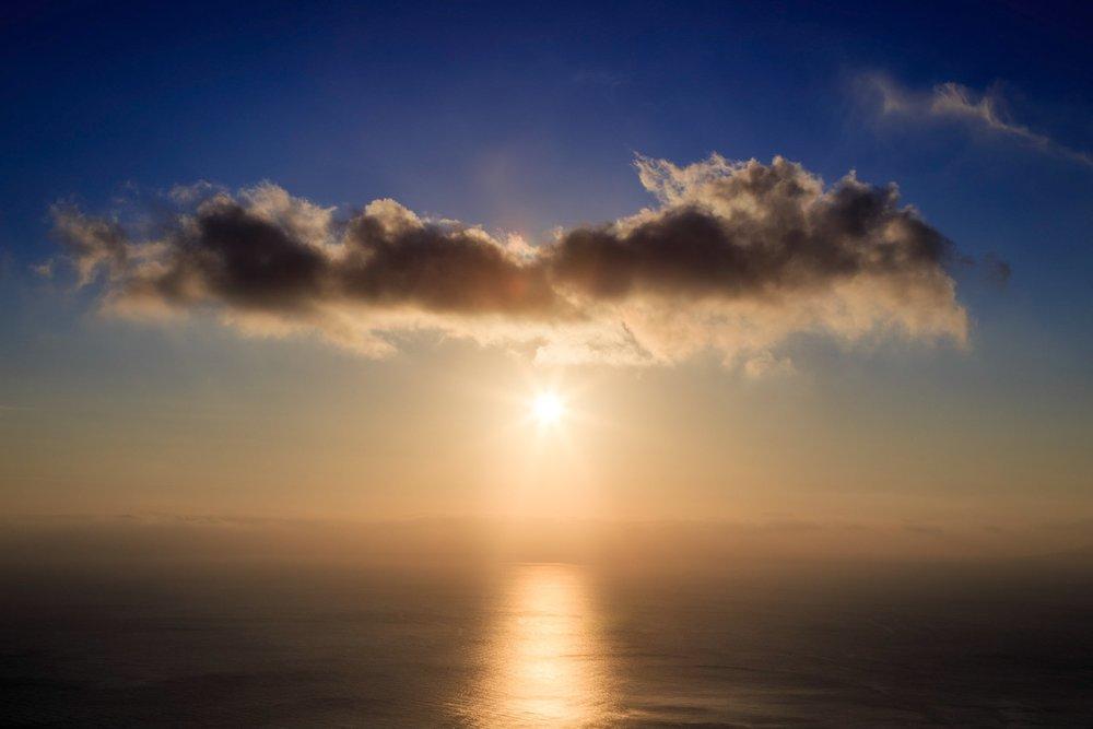 Sunrise on Santroini by Rick McEvoy Photography - Travel Photographer