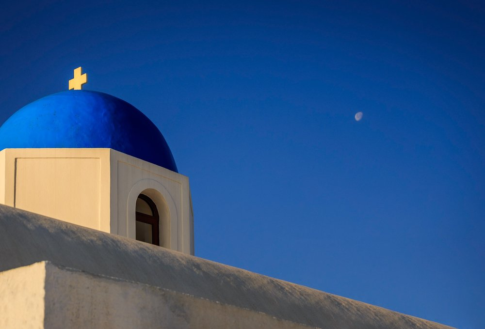 Church. Santorini, Greece,