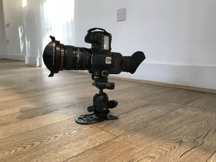 Canon 6D, Canon 17-40mm lens, Platypod Pro