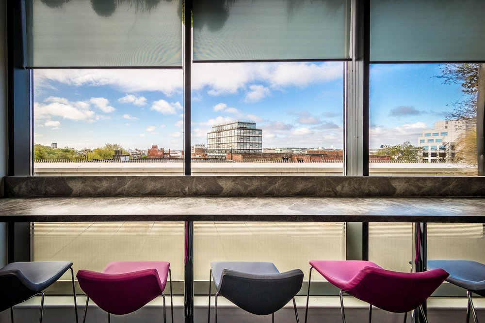 Interior space at the University of Southampton by interior photographer Rick McEvoy.jpg