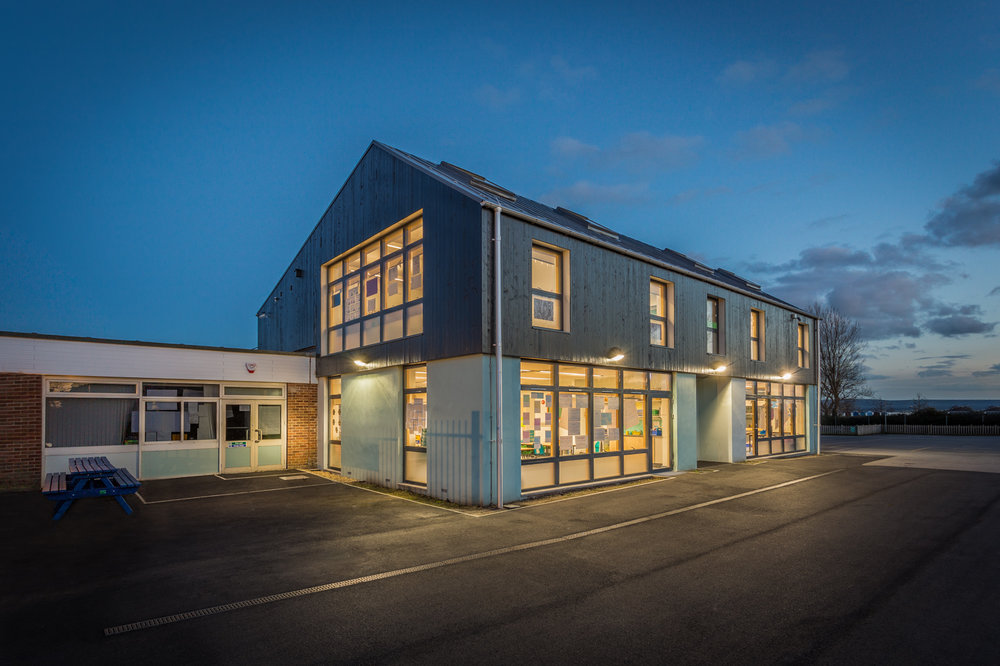 Hamworthy Park Junior School - Rick McEvoy Photography - architectural photography in Dorset