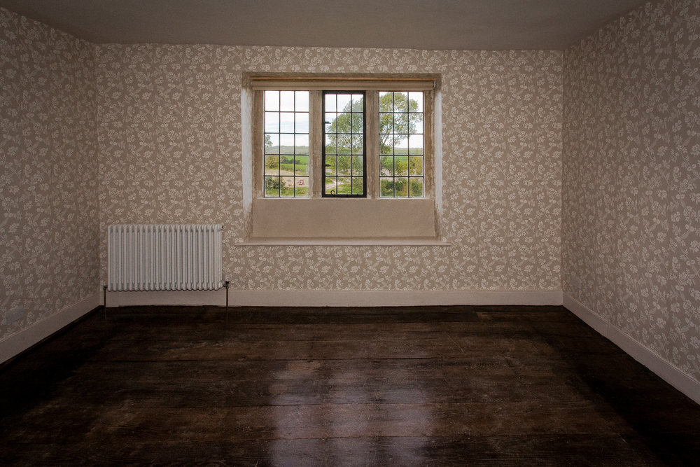 Photograph of a refurbished room in a lovely Dorset farmhouse