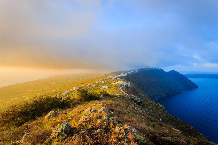 Santorini sunrise - Rick McEvoy - Travel Photographer