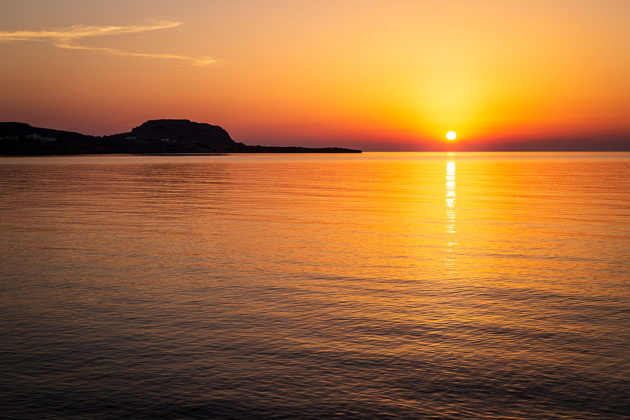 Sunrise in Rhodes by Rick McEvoy Travel Photographer
