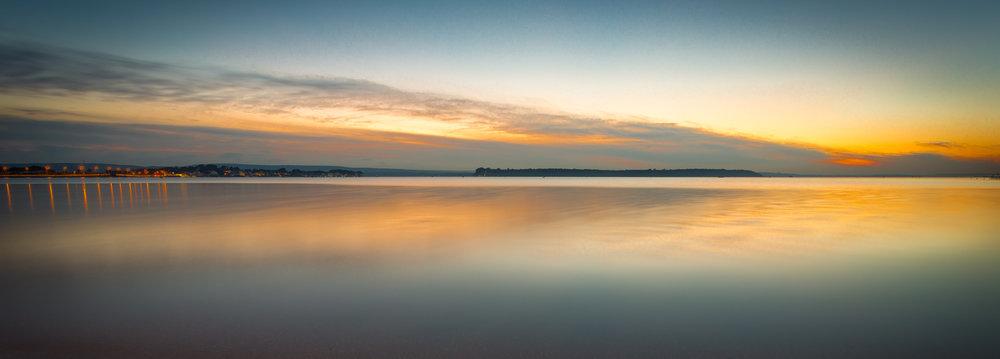 Sandbanks Panoramic Sunset by Rick Mcevoy Photography.jpg