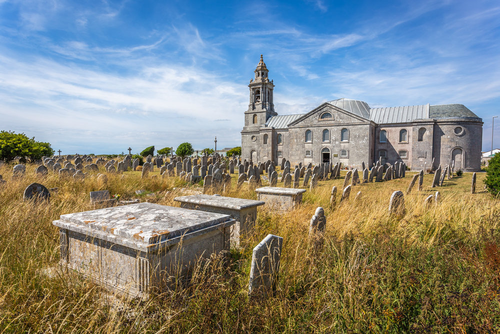 Church, Portland, Dorset by Rick McEvoy Architectural Photographer