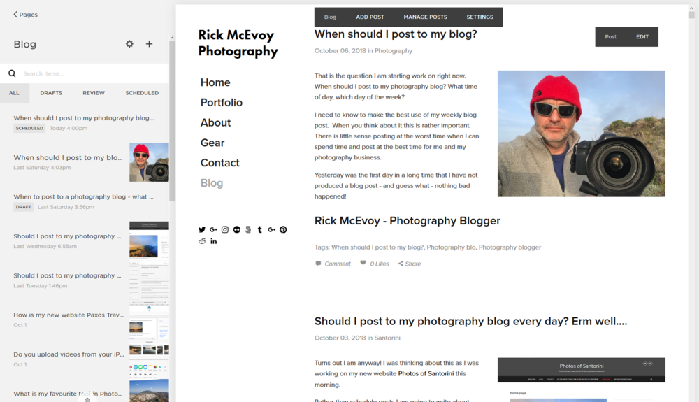 Rick McEvoy Photography Blog