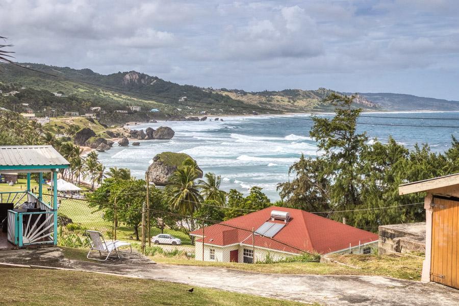 Bathsheba on the Caribbean Island of Barbados