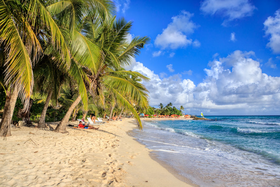 Picture of Dover Beach on Barbados near Johhny Cools Beach Bar