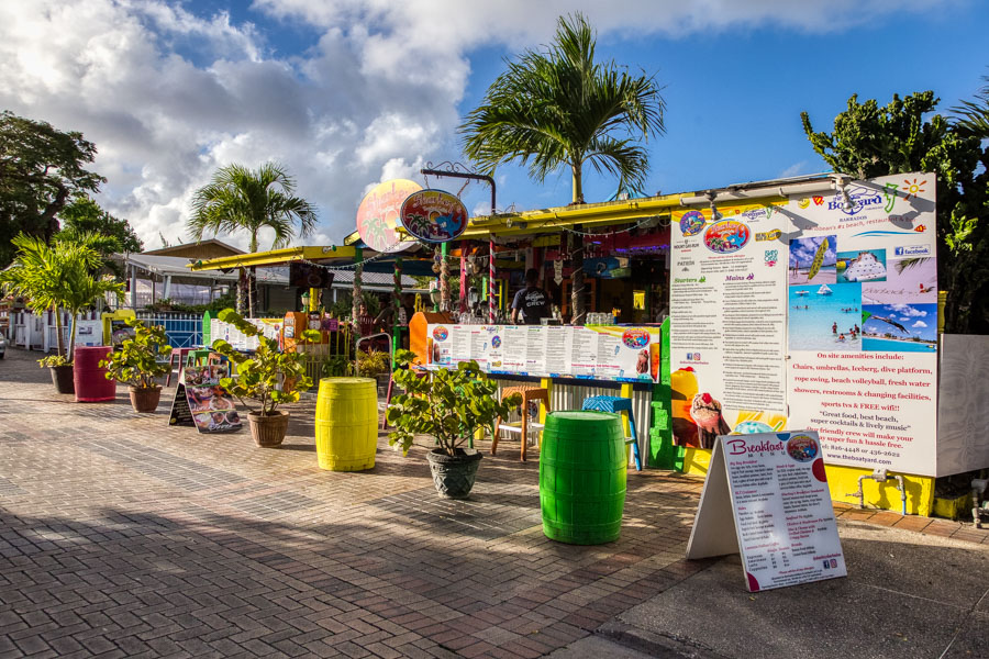 Sharkey's Tropical Cafe on St Lawrence Gap Barbados