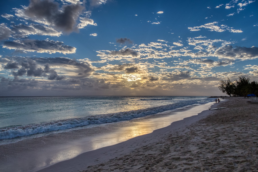 Sunset on Dover Beach Barbados