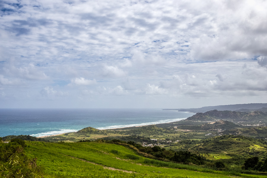 View from Cherry Tree Hill Barbados