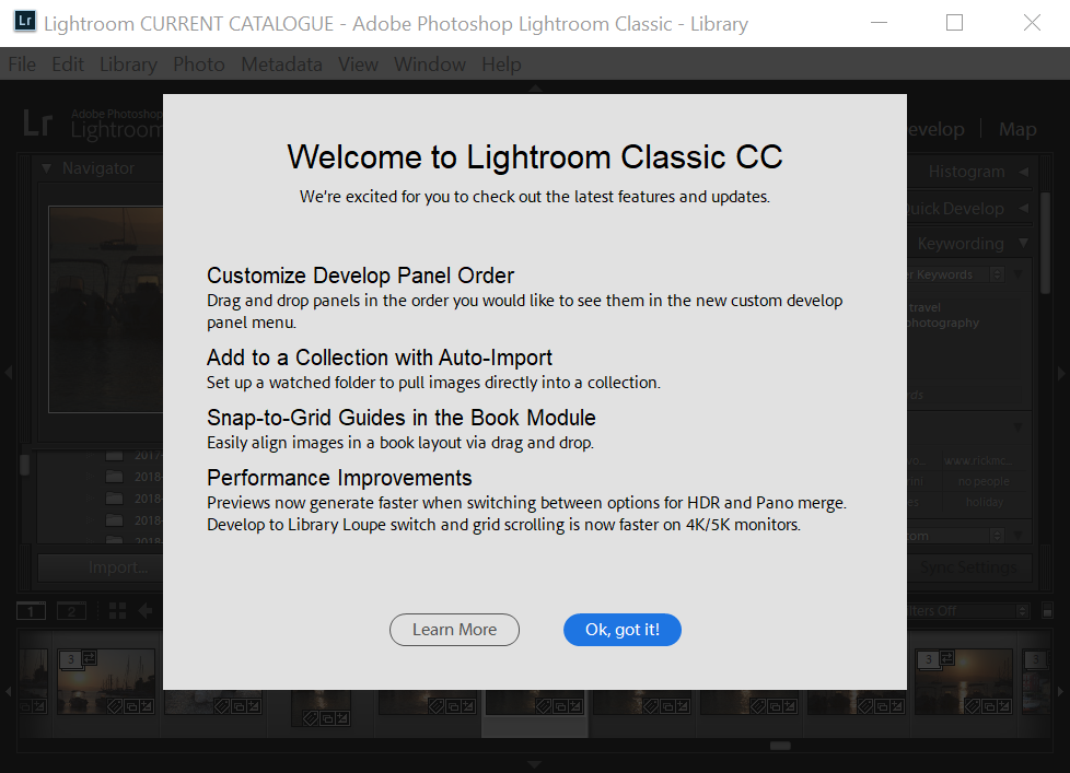 Whats new in Lightroom Classic