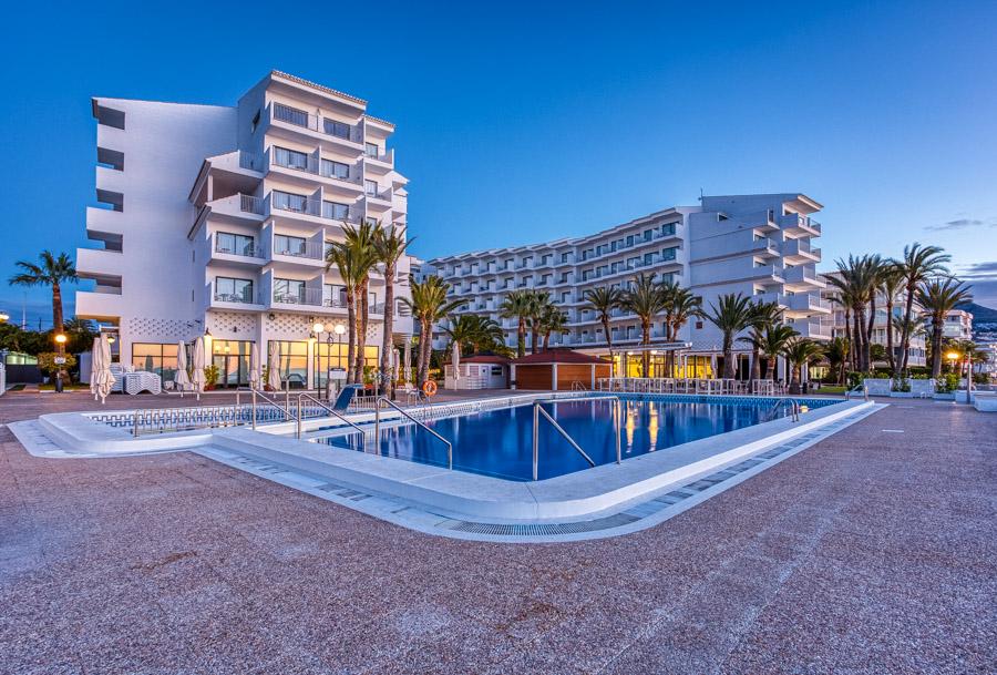 Cap Negret Hotel, Altea, Spain at sunrise