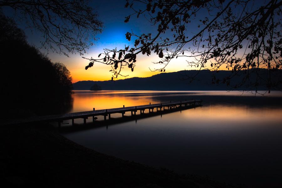 Sunset on Lake Windermere