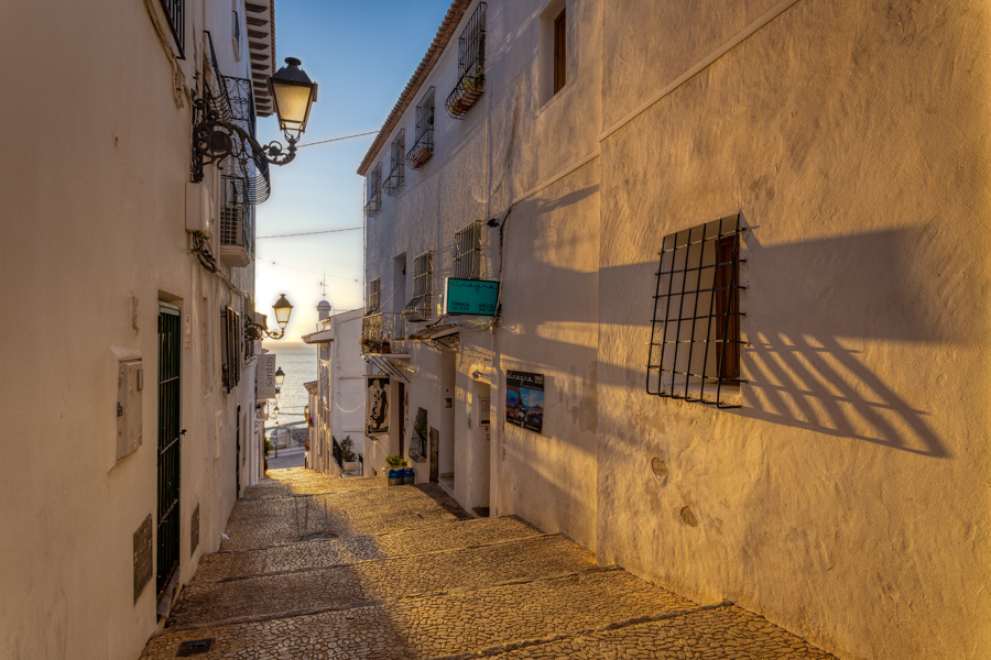 Sunrise in Altea by travel photographer Rick McEvoy