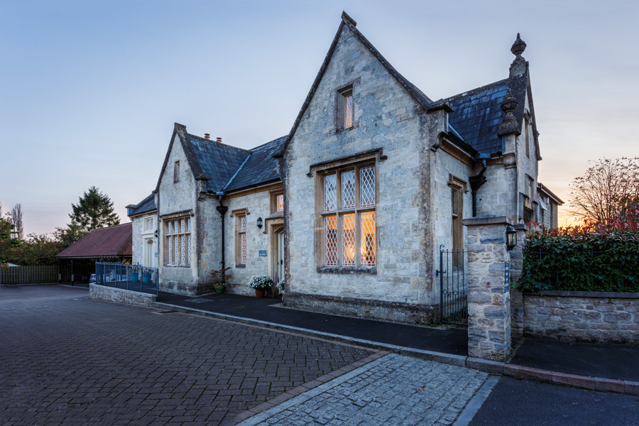 Exterior pictures of Castle Street in Mere for Etchingham Morris