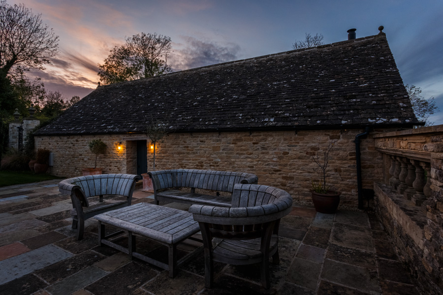 Exterior pictures of the Manor House for Etchingham Morris Archi