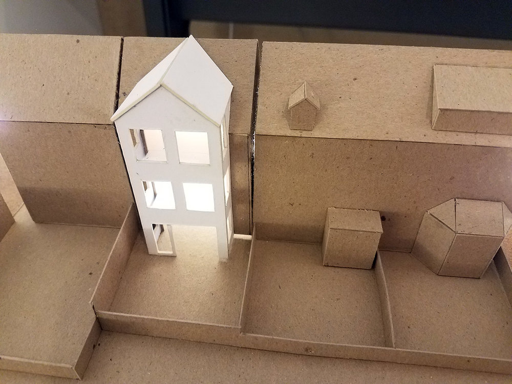 PARTY WALL HOUSE