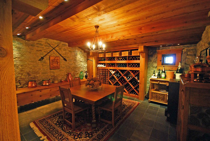 Many on the DIGS team are card-carrying oenophiles. This wine cellar gave life to an old, unfinished basement and created safekeeping for 2,000 spectacular vintages.