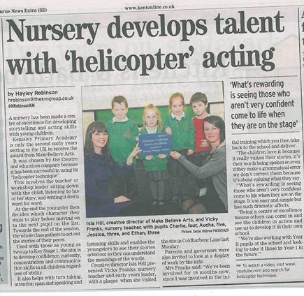 kemsley news article