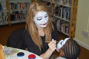 pumpkin party event face painting