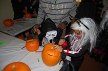 pumpkin party event carving