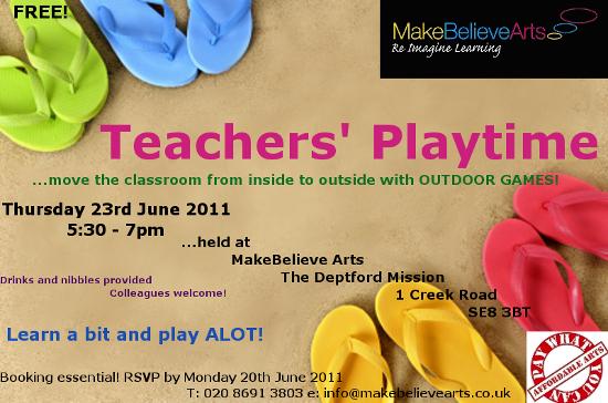 teachers playtime