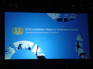 lewisham business awards night