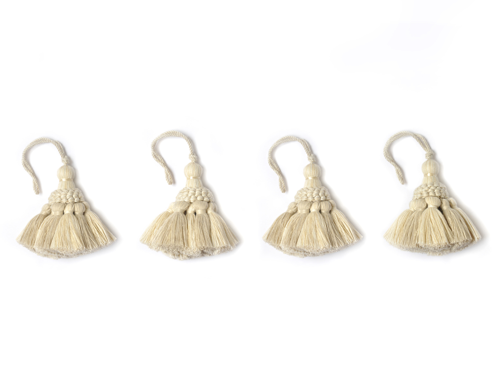 Tassels in Cream
