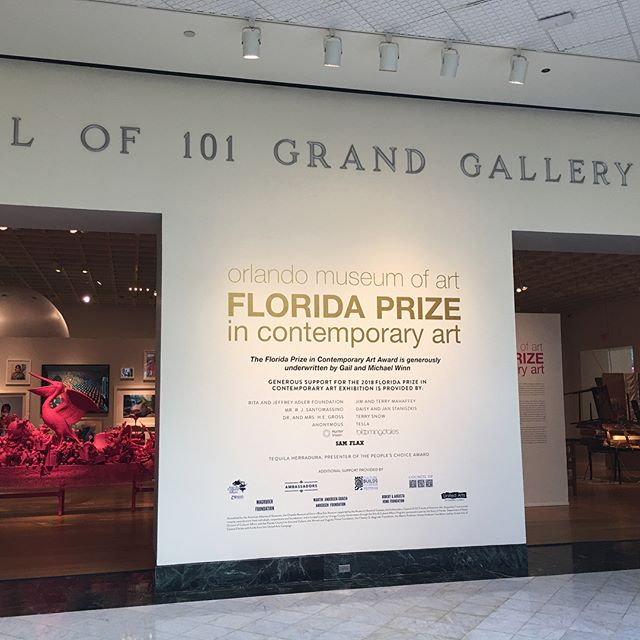 Florida Prize In Contemporary Art Exhibition 2018 pt. 1: Carlos Betancourt (People's Choice Award), Gonzalo Fuenmayor, Glexis Novoa