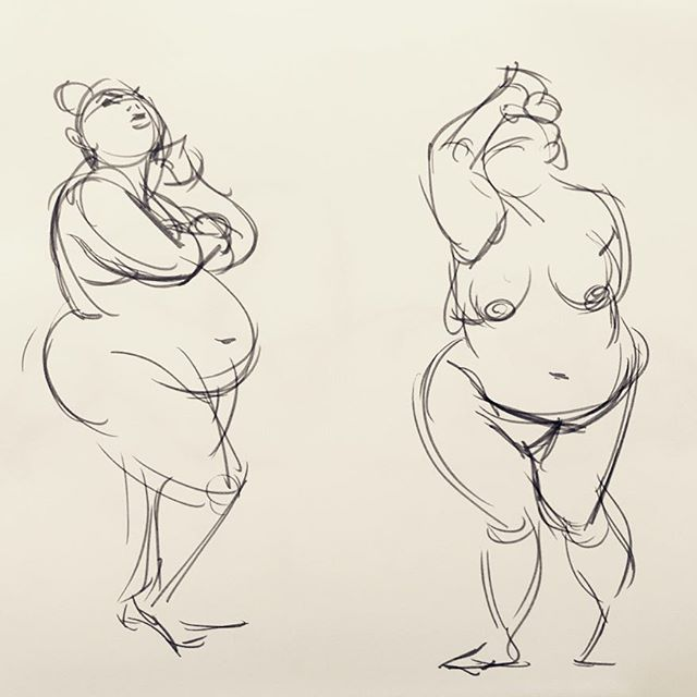 First of the Premise Entertainment life figure drawing session last week with model Keira. Faber Castell gray Pitt pen on 28lb. cardstock. These poses are 2 minutes.