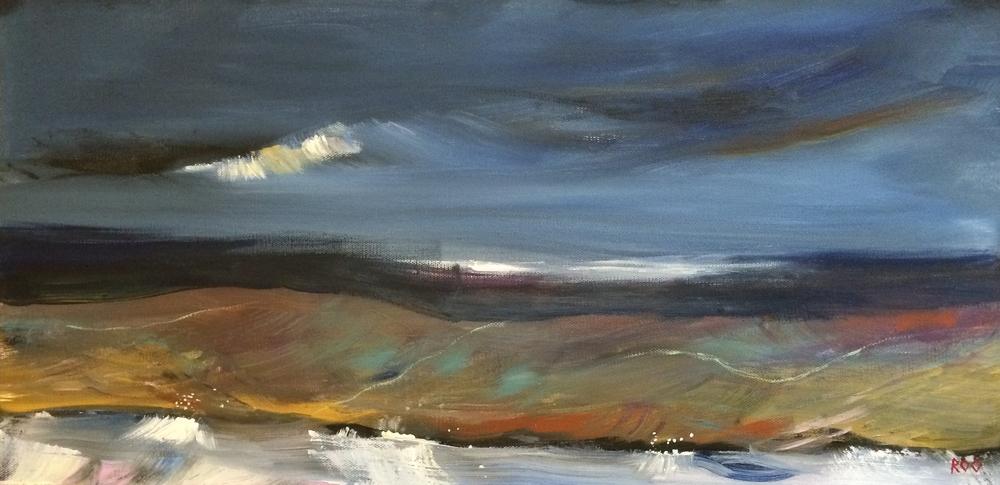 Marshes and dunes III