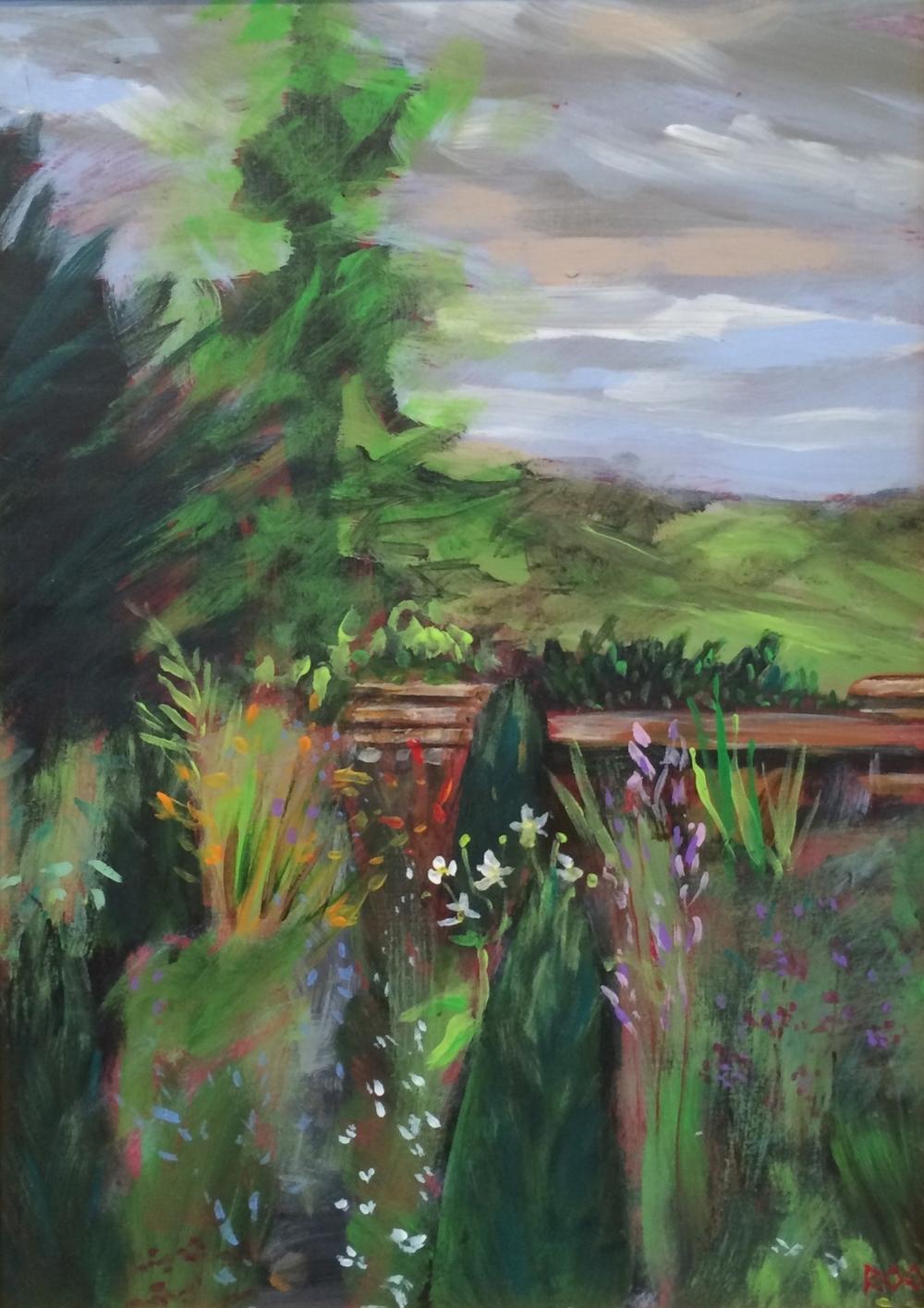 The garden, Yewfield