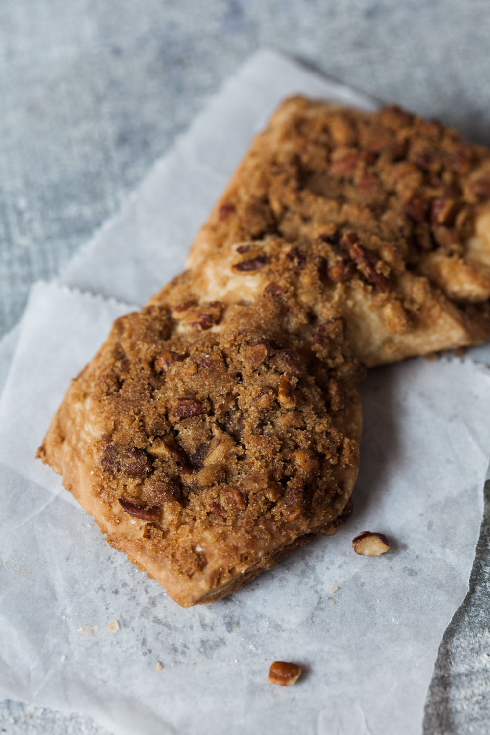 Butterscotch Bow-tie:  The Butterscotch Bowtie is one of the best products in the morning pastry category. Made with delicious pecans that are sprinkled with brown sugar, this truly is a treat. The pastry is a flaky layered pastry with buttery, sugary pecans baked in.