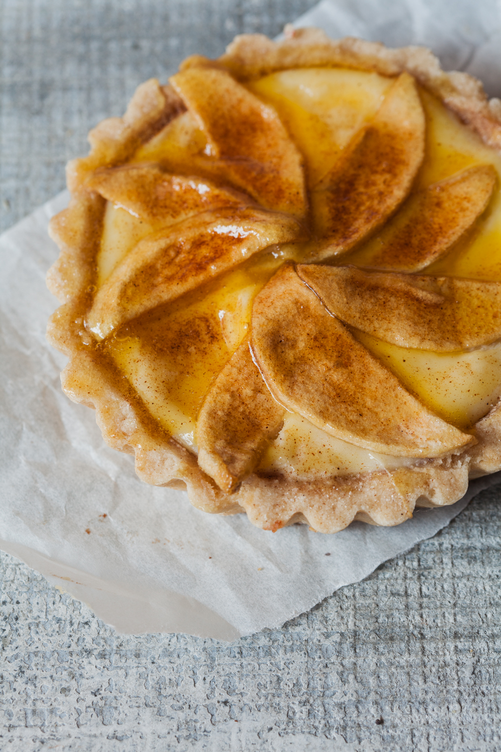 Bavarian Apple Cheese Tart