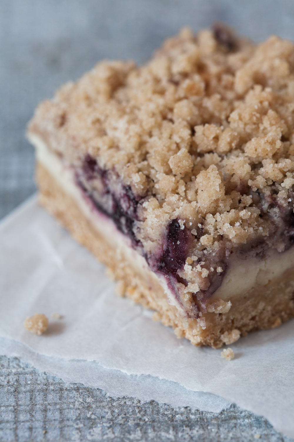 Cheesecake Crumb Square