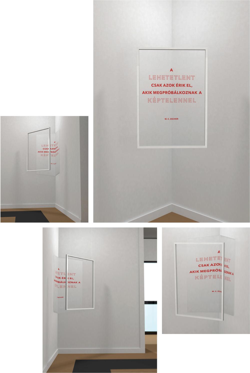 Köves Lili: Plakátinstalláció