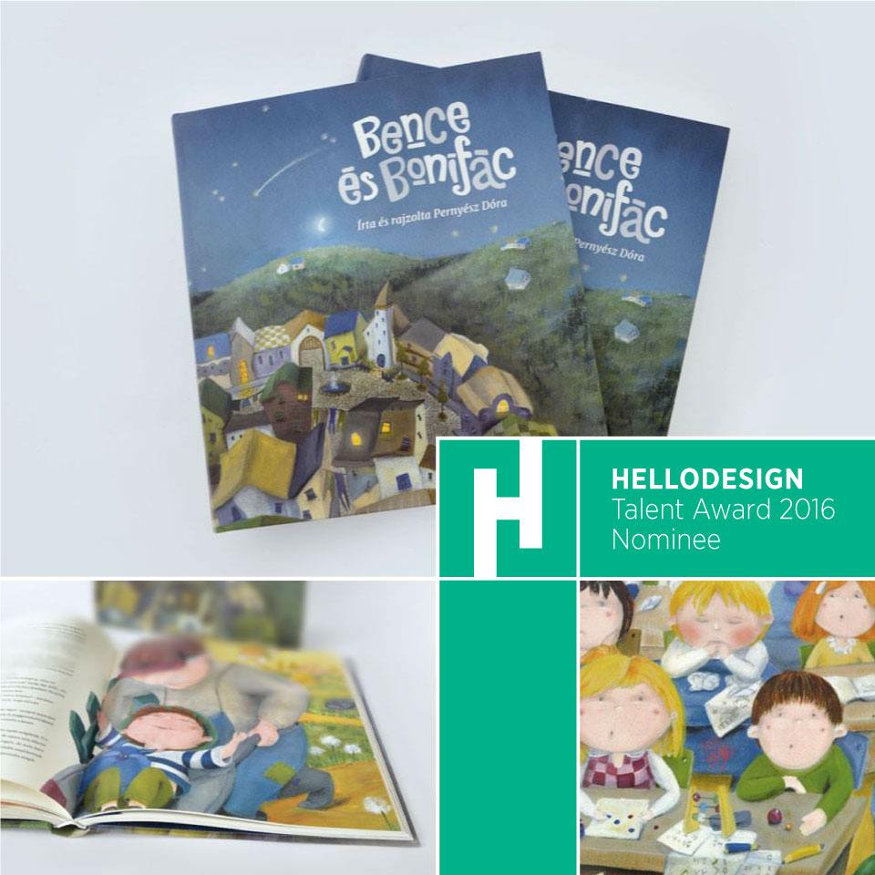 Bence and Bonifác Storybook Illustrations