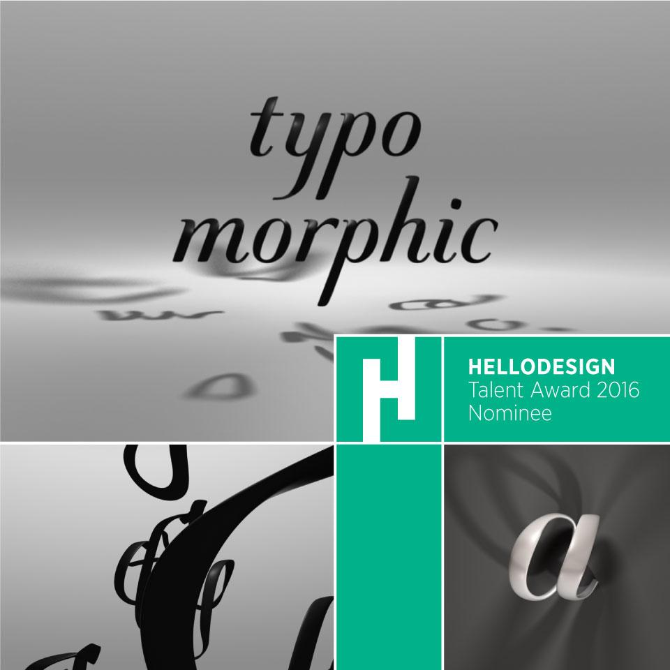 """""""Typomorphic"""" Experimental Calligraphic Typofacefont"""