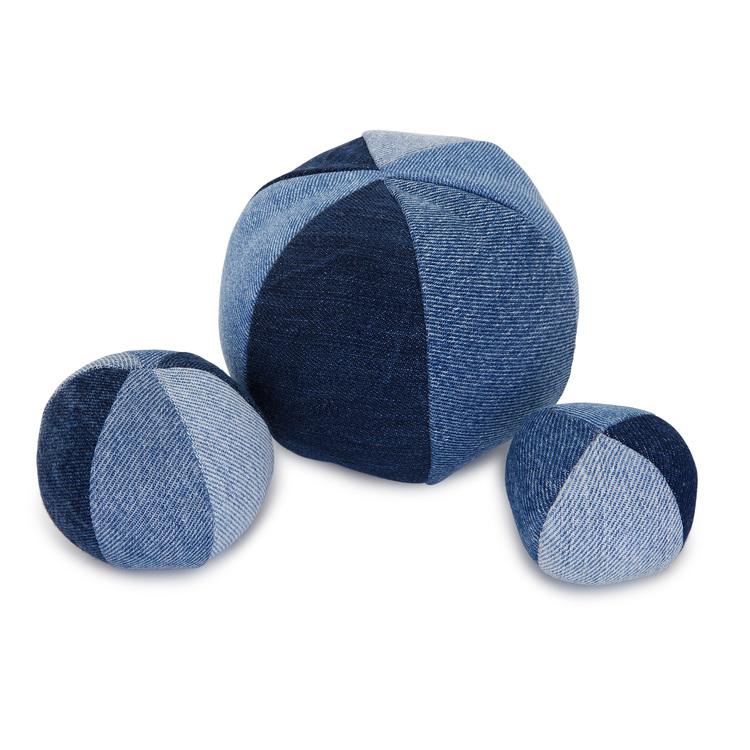 RECYCLED TOYS | Denim Balls