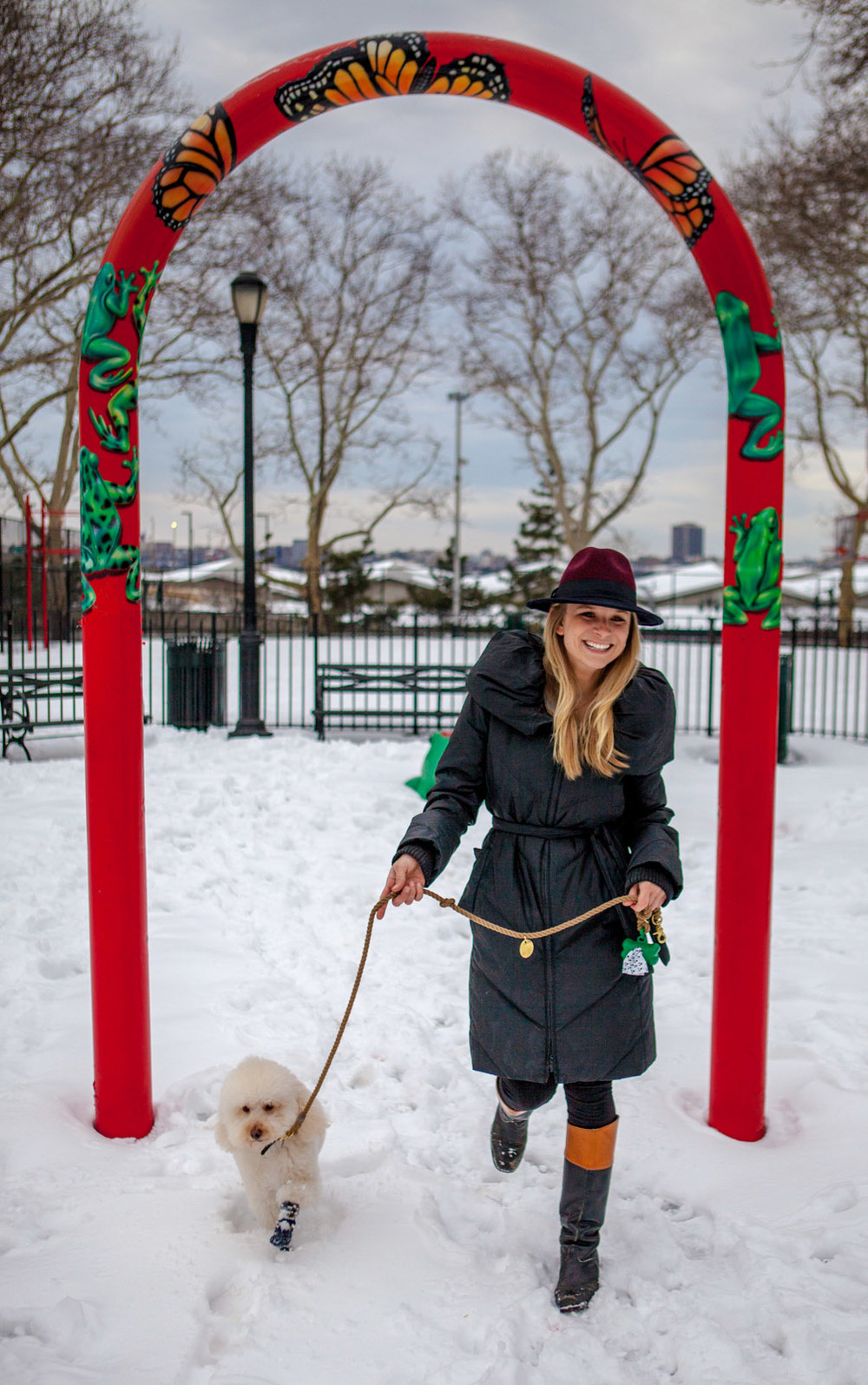 HOUND & TAIL | Joey Boot + FOUND MY ANIMAL | Adjustable Rope Lead